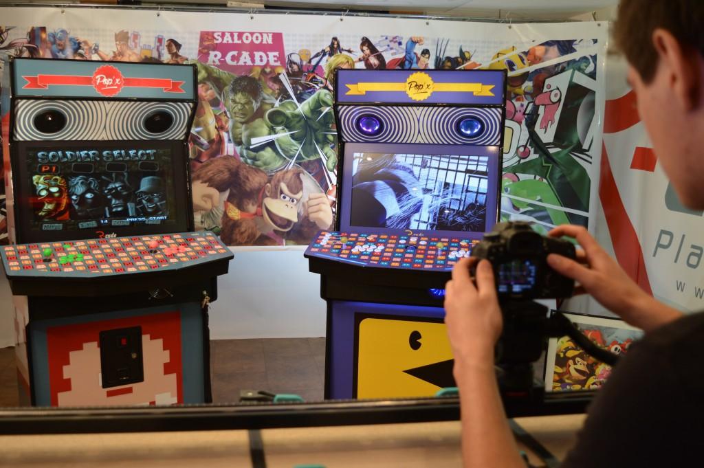 Borne Arcade Donkey Pac-man