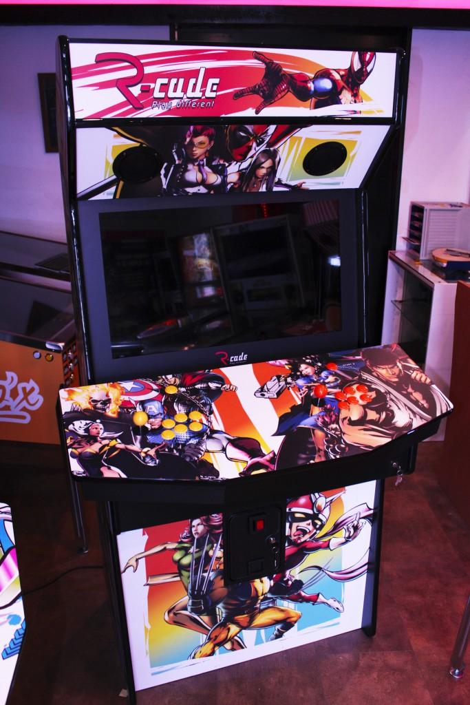 borne arcade Marvel vs Capcom