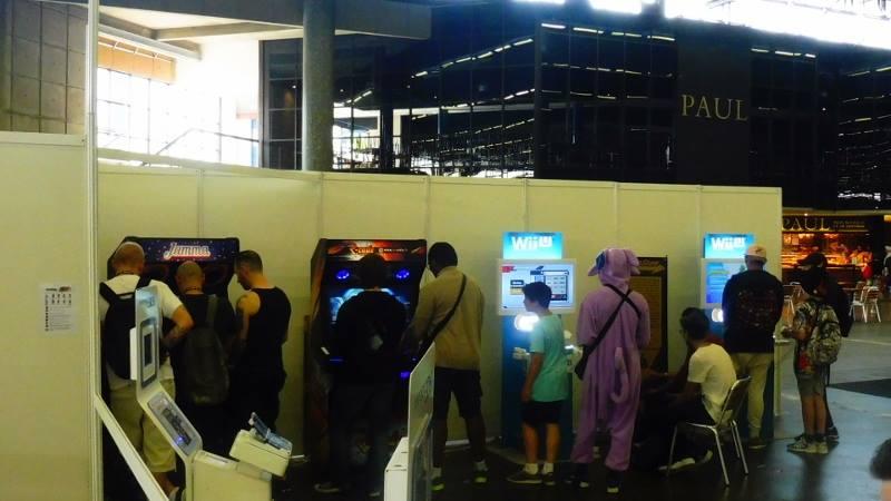 Bornes arcade Japan Expo