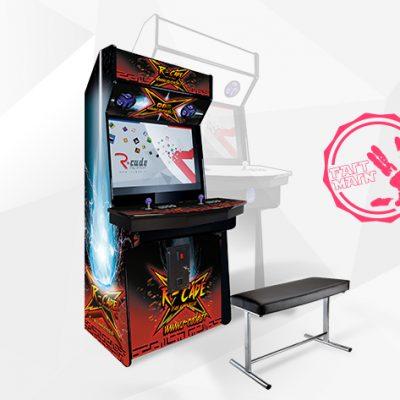 borne arcade jamma mini kumite 2017