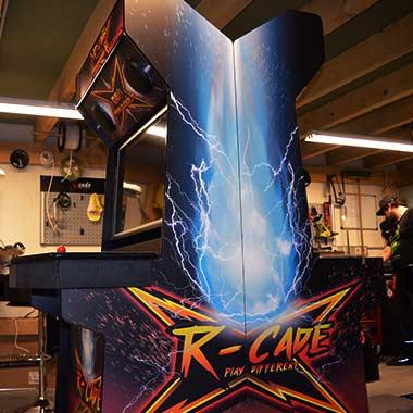 borne arcade RBK open qualifier en production
