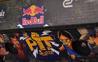 red bull the pit r-cade