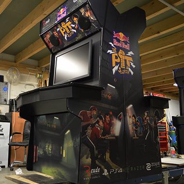 borne arcade versus r-cade red bull the pit