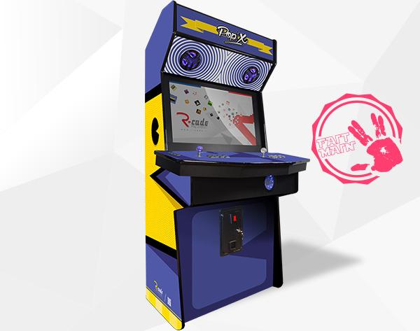 Borne arcade jamma standard pacmax