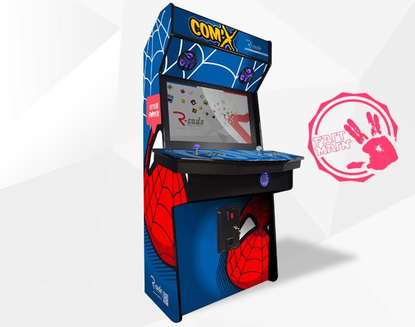 borne arcade jamma comx peter