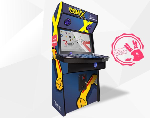 borne arcade jamma comx scott