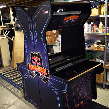 borne arcade RBK en production