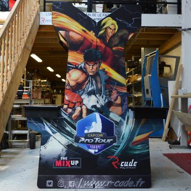 Borne d'arcade Capcom Pro Tour Street Fighter