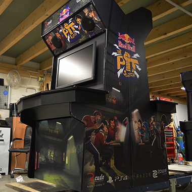 borne arcade versus r-cade red bull the pit