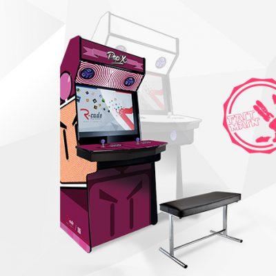borne arcade console mini comx bombermax
