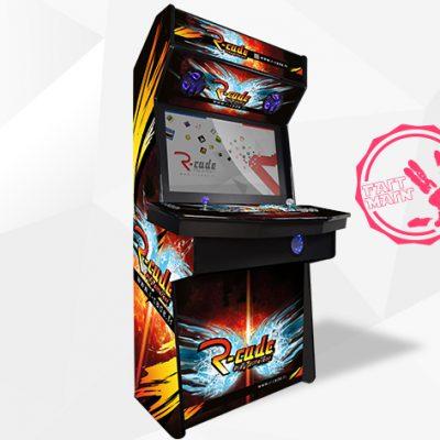 borne arcade console kumite 2016