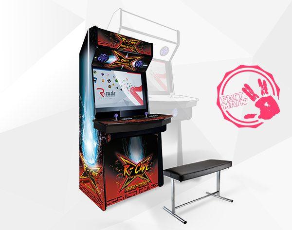 borne arcade console mini kumite 2017