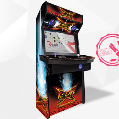 borne arcade console kumite 2017