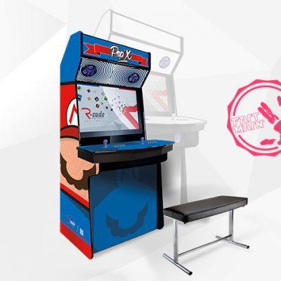 borne arcade console mini comx mariox