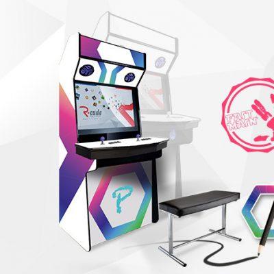 borne arcade console mini standard personnalisable