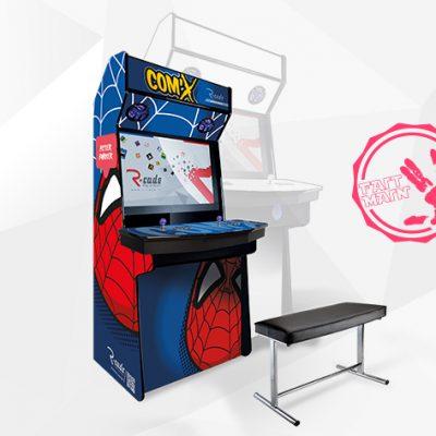 borne arcade console mini comx peter