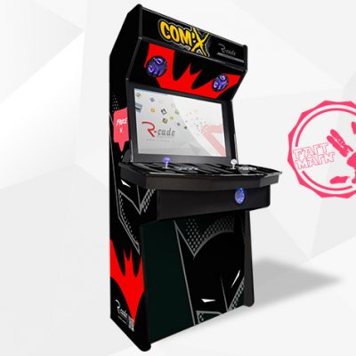 borne arcade console comx bruce