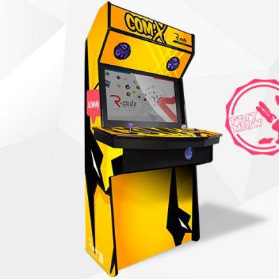 borne arcade console comx logan