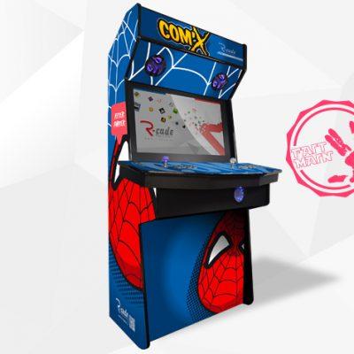 borne arcade console comx peter