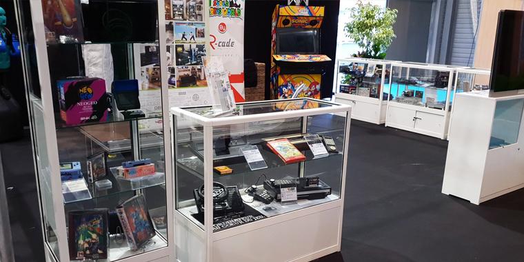 stand mcv musée jeux video