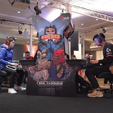 borne d'arcade bleu RBK18 LCQ